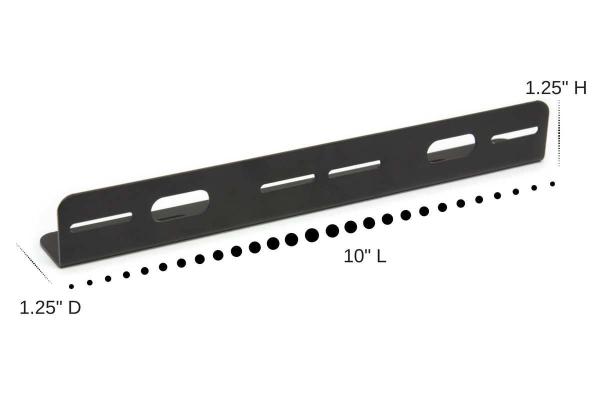 Dual Static Horizontal Bracket