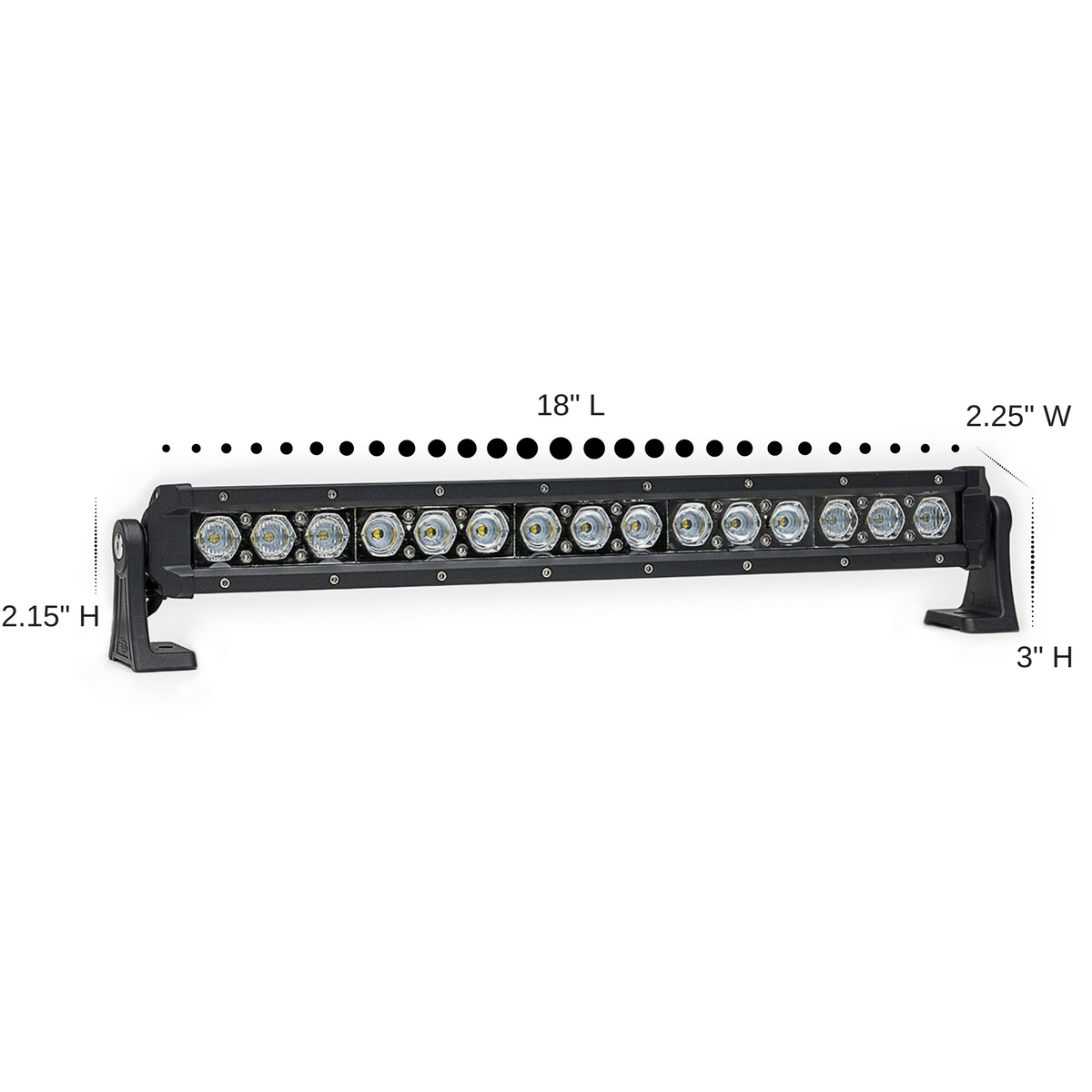 Carbine 18 Hybrid Off Road Led Light Bar