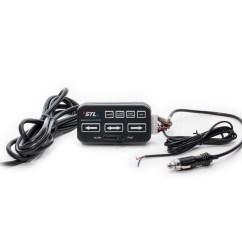 Wiring Diagram For Light Bar Switch 93 S10 Stereo Virtue 6 Linear Led Traffic Advisor D Vl6 Stl