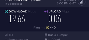 Second Speed Test