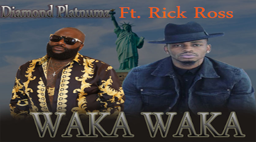 NEW VIDEO: DIAMOND PLATNUMZ ft RICK ROSS - WAKA