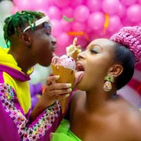 "Watch Cuppy Ft Zlatan on ""Gelato"""