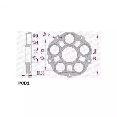 Porte couronne Afam pour couronne type 51608/51607 Ducati