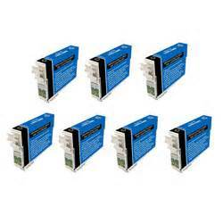 FREE SHIPPING! Epson T126120 7-Pack High Yield Black Ink $7.55 each