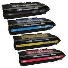 HP LaserJet 3700 4-Pack High Yield Toner (CYMK) $50 each