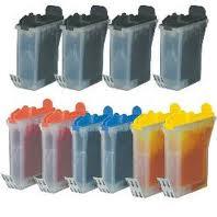 Brother LC31 10-Pack Ink (4-K, 2-C, 2-M, 2-Y) $2.70ea
