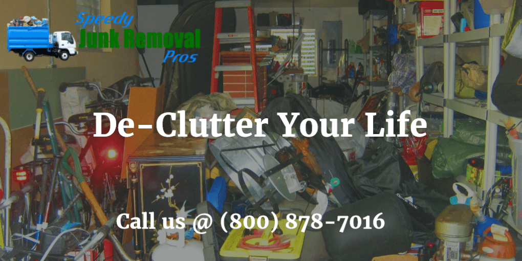 De-Clutter Your Life - Speedy Junk Removal Pros - Boston MA