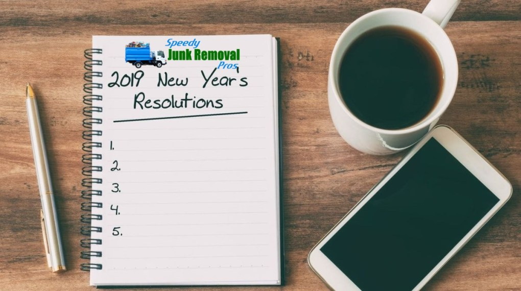 Junk Free Home New Year Resolutions