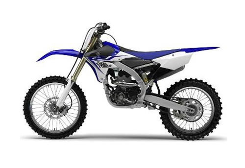 www.speedymanual.com : Yamaha YZF 4-Stroke Dirt Bike