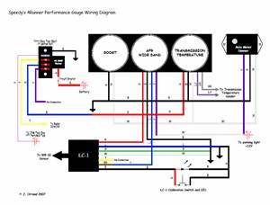 autometer sport comp wiring diagram 230 volt air conditioner project sportrunner - performance gauges