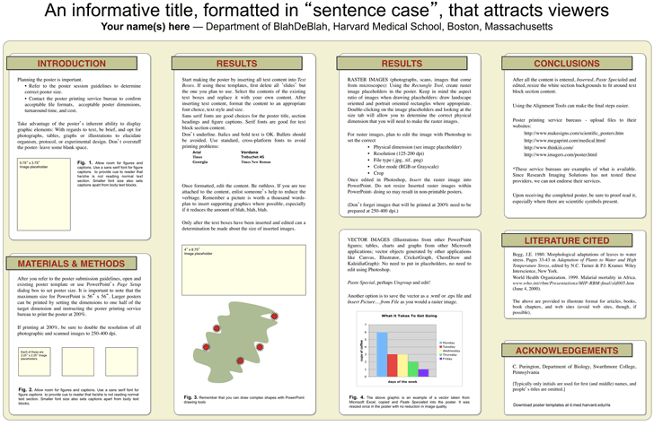 research poster template ppt 351kb