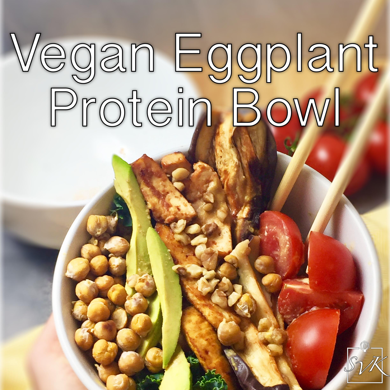 Eggplant Protein Bowl