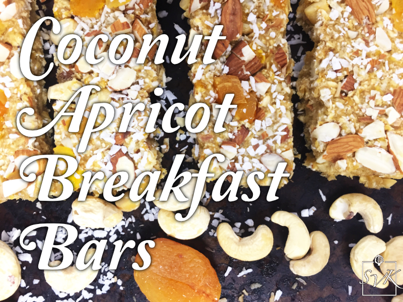 Coconut Apricot Breakfast Bars