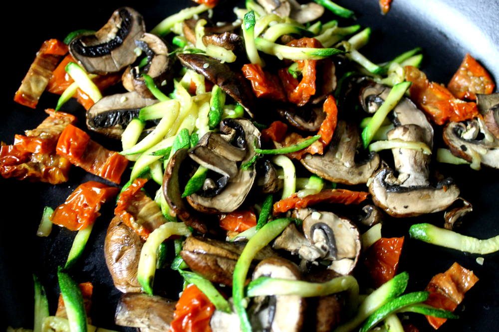 pan roasted mushrooms