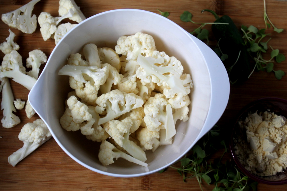 Cauliflower + Besan
