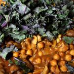 Channa Masala with mushrooms