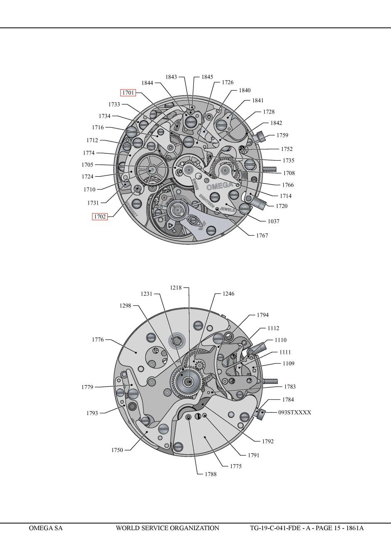 Omega Speedmaster Professional Caliber 1861 (15
