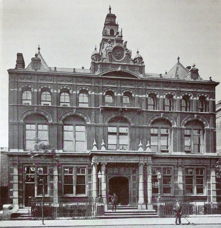 Bermondsey Old Town Hall And Library Bob Speels Website