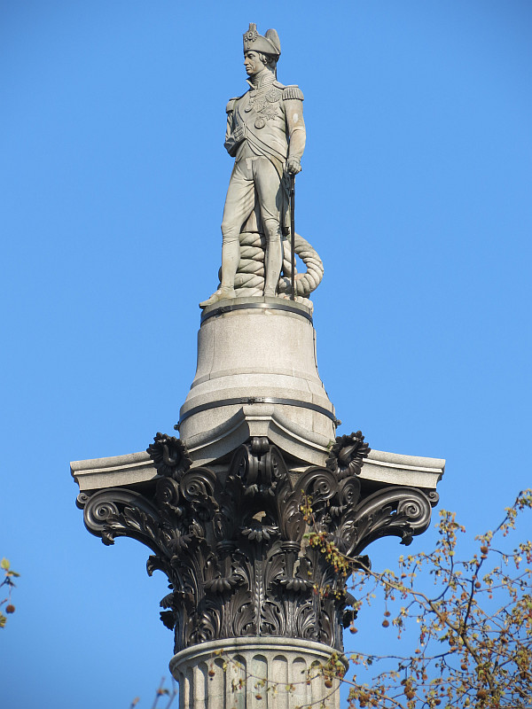 Image result for trafalgar square nelson's column