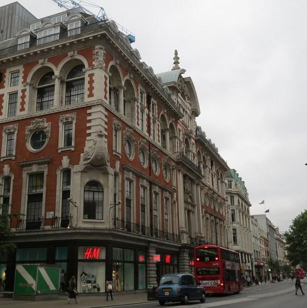 East Oxford Street London