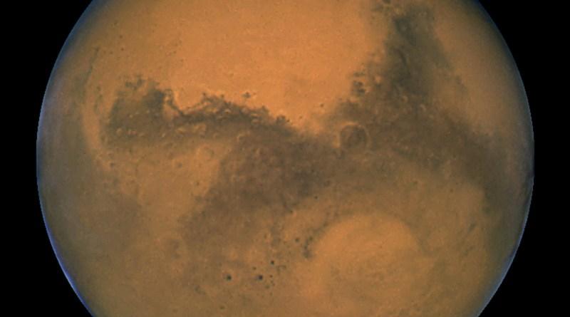 de planeet Mars
