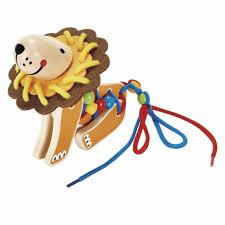 Hape leeuw rijgen