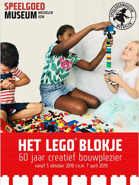 Het LEGO blokje - 60 jaar creatief bouwplezier