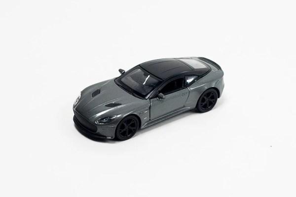 Aston Martin grijs links
