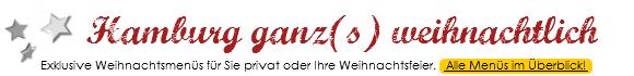 """Hamburg kulinarisch - Aktion """"Hamburg ganz(s) weihnachtlich"""""""
