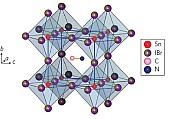 Zinn-Perowskit-Struktur