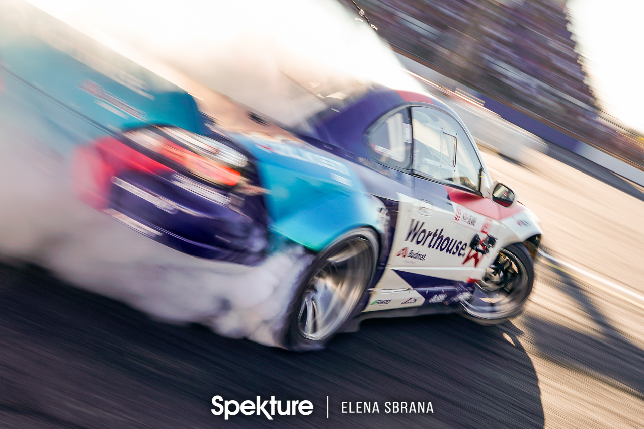 "Sliding into the second half of the season – Formula Drift Round 5 ""Throwdown"" at Evergreen Speedway."