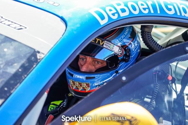 Earchphoto - Focused. Derek De Boer on pre-grid at PIR.