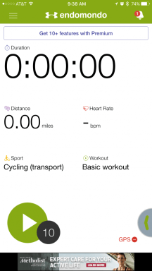 Endomondo - Sports activity tracking