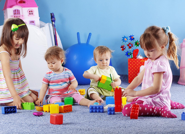 Playing kids