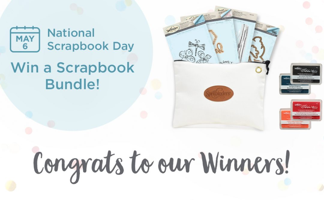 Congratulations to the Winners of the National Scrapbooking Sweepstakes