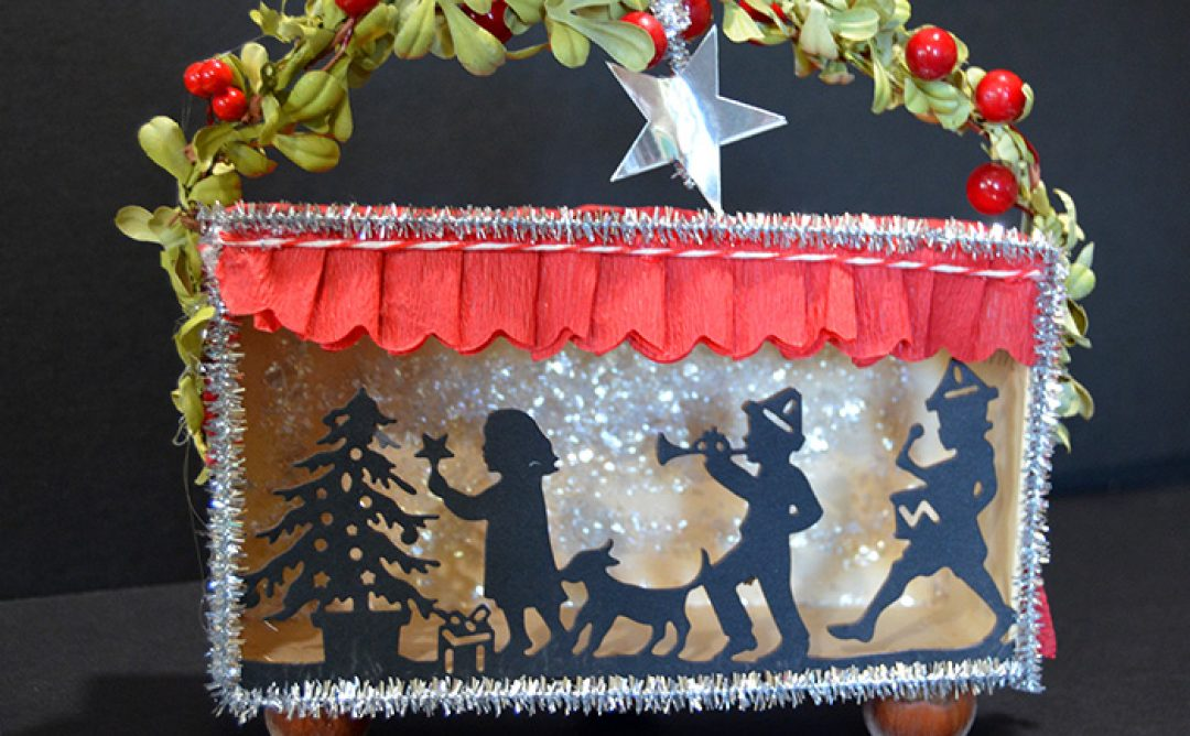 Christmas Shadow Box with Sharyn Sowell