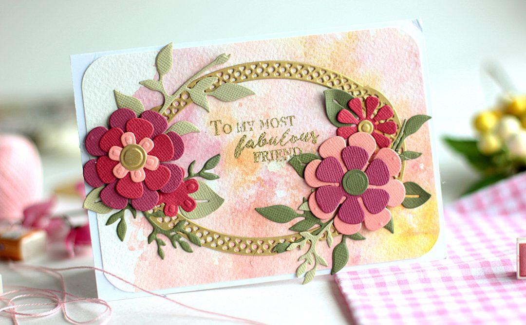 Floral Cards with Die D-Lites