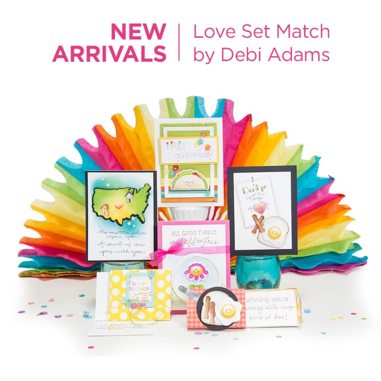 Spellbinders Love Set Match Collection by Debi Adams