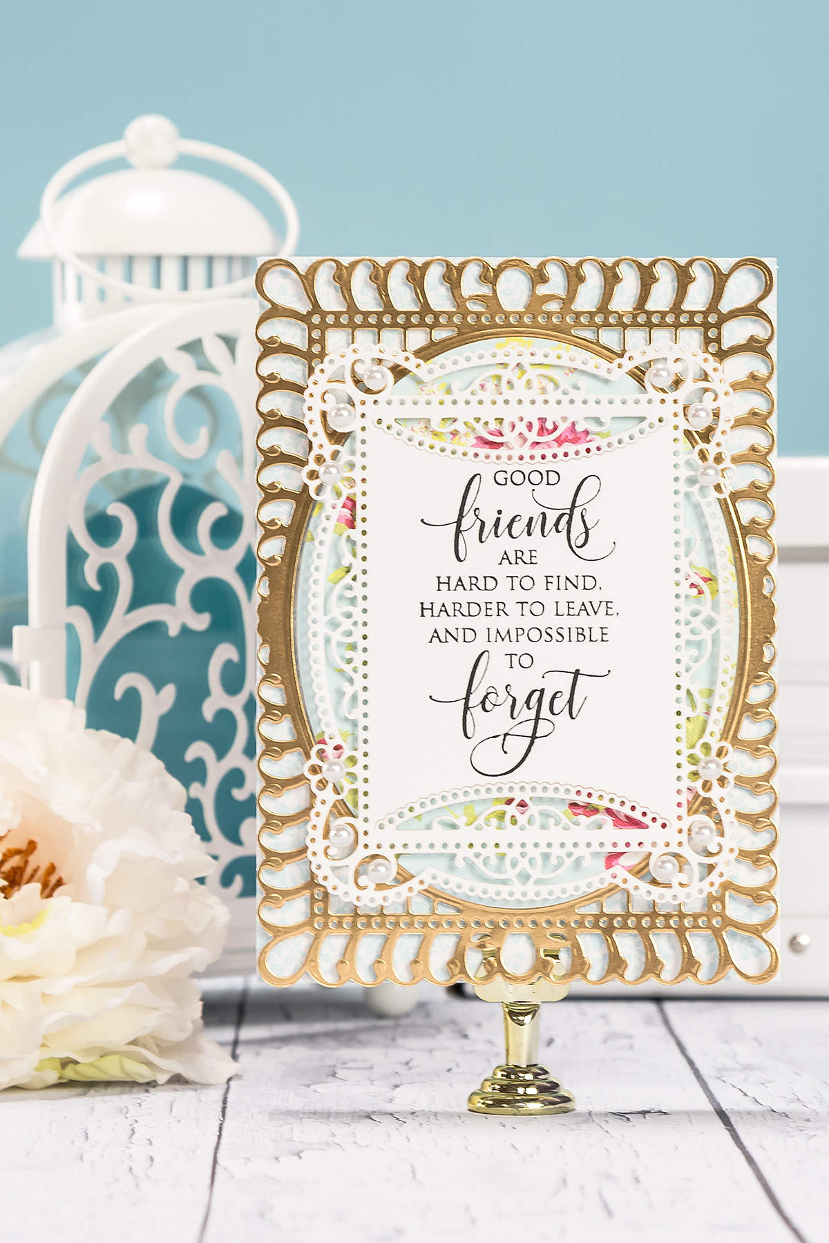 cardmaking inspiration good friends card by yana smakula for created using s5