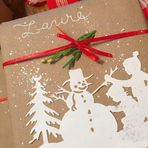 Let's Wrap Our Gifts… Quick & Easy with Sharyn Sowell for Spellbinders. Using: S4-821Building a Snowman, S4-824Sledding, S4-826 Snow Ball, S5-355Tree Pickingdies #spellbinders #giftwarp