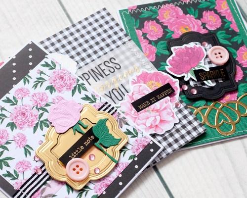 Spellbinders January 2018 Card Kit Of The Month #SpellbindersClubKits