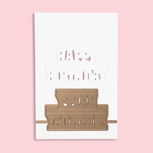 Spellbinders February 2018 Large Die of the Month is Here! #neverstopmaking #SpellbindersClubKits #spellbinders #diecutting #diecutclub #cardmaking