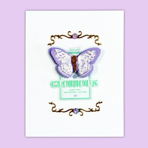 Spellbinders April 2018 Card Kit of the Month is Here!