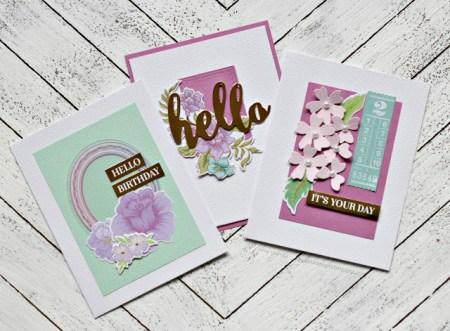 Spellbinders March 2018 Card Kit