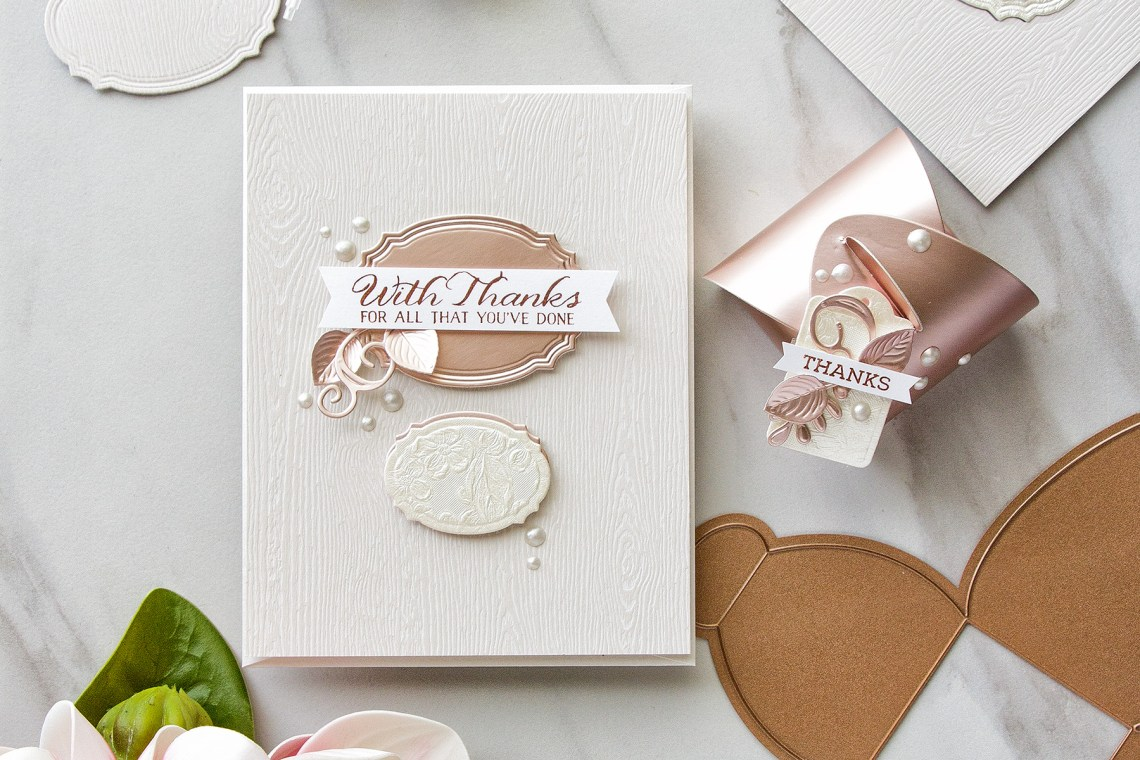 Spellbinders March 2018 Small Die Of The Month Kit