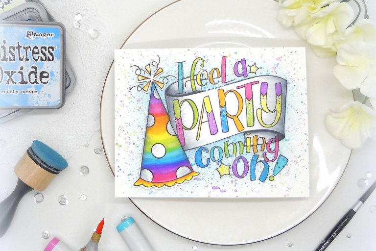 Video Friday | Rainbow Confetti Background with Kelly Latevola for Spellbinders using SDS-105 Party