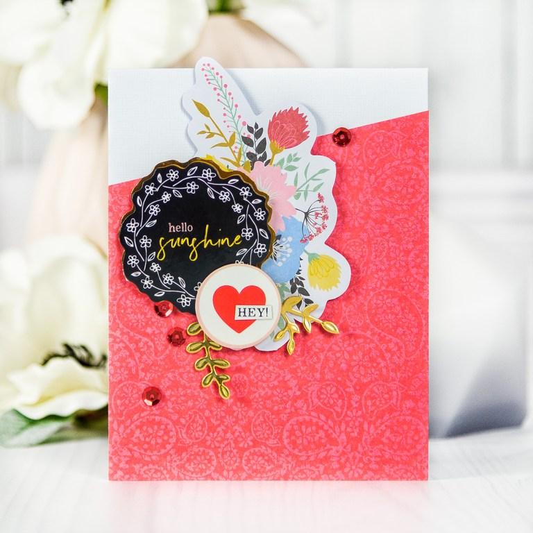 Spellbinders June 2018 Card Kit of the Month is Here! #spellbindersclubkits #spellbinders #cardmakingkit #cardkit