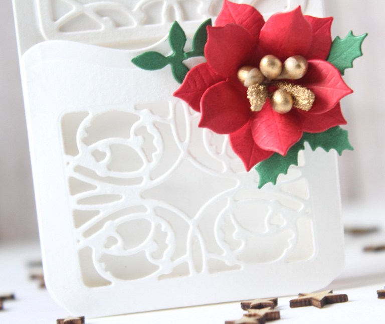 Spellbinders A Charming Christmas Collection by Becca Feeken - Inspiration | Gatefold Card & More with Hussena