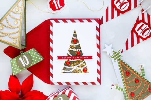 Spellbinders November 2018 Large Die of the Month is Here – Everything Under The Tree! #SpellbindersClubKits #neverstopmaking