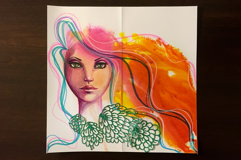 """Spellbinders Jane Davenport Artomology 